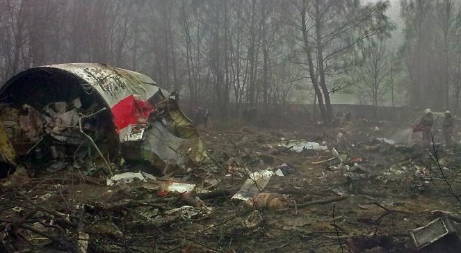 Останки польського літака ТУ-154М. У катастрофі 10 квітня 2010 року під Смоленськом загинуло 96 представників Польщі, в тому числі президент Лєх Качинський