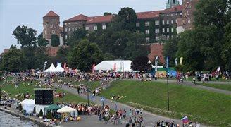 Польские продукты питания на Всемирных днях молодежи