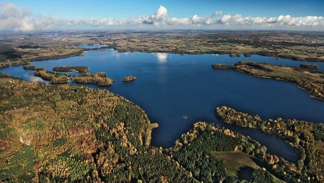 Мазурське поозер'я у Вармінсько-Мазурському воєводстві на північному сході Польщі