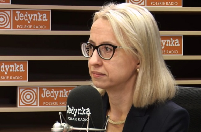 Polish Finance Minister Teresa Czerwińska. Picture: Polish Radio