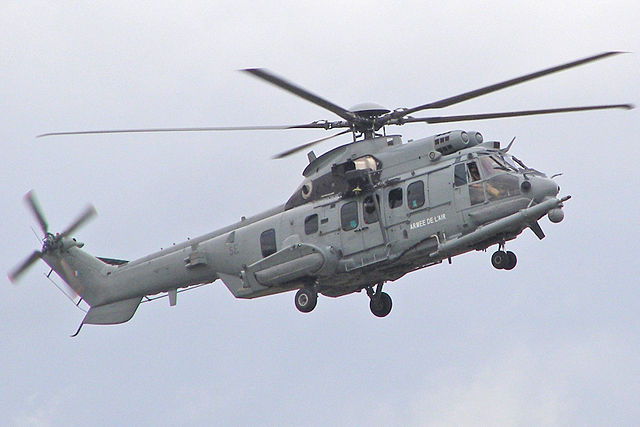Airbus's Eurocopter EC-725R2 Caracal. Photo: Wikimedia Commons
