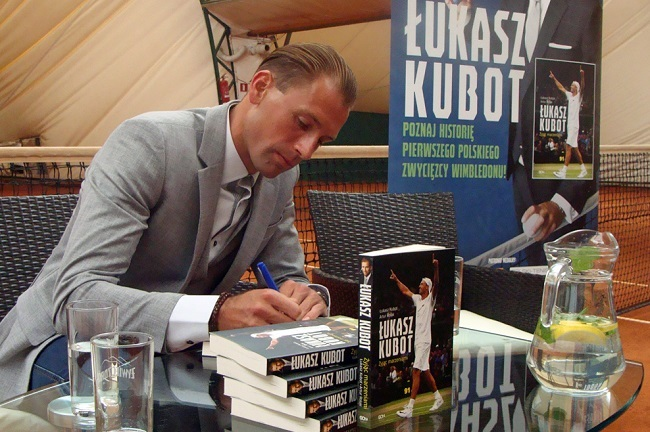 Łukasz Kubot. Photo: Darek Matyja/Polish Radio