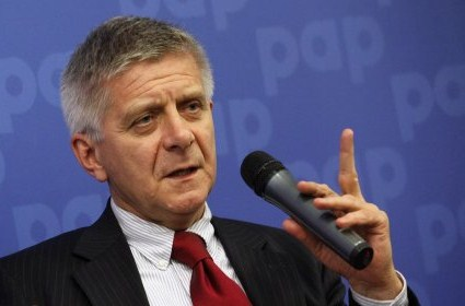 Central bank chief Marek Belka.