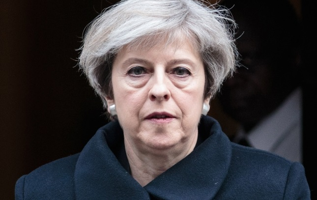 British Prime Minister Theresa May. Photo: EPA/JACK TAYLOR