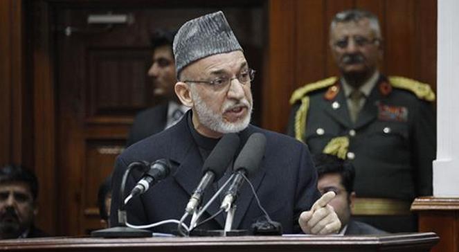 Hamid Karzai, prezydent Afganistanu