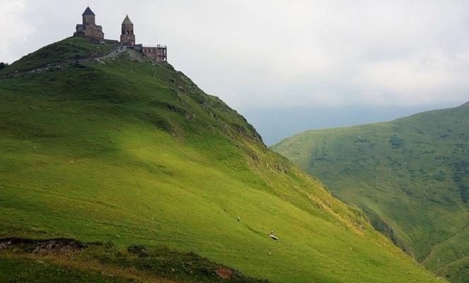 Пейзаж Грузии.