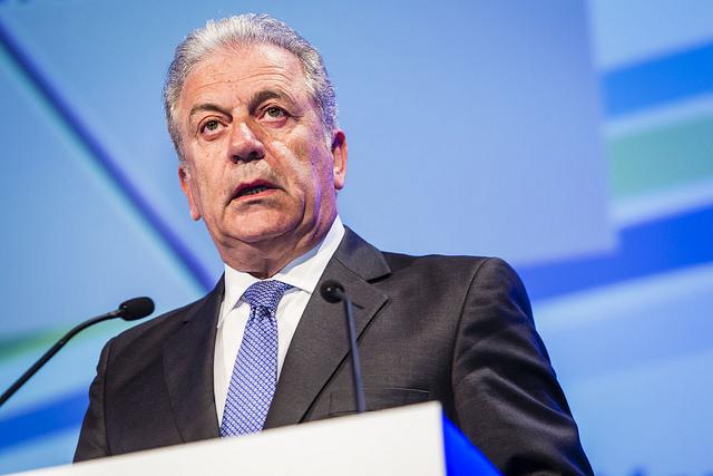 Dimitris Avramopoulos. Photo: flickr.com/European Defence Agency