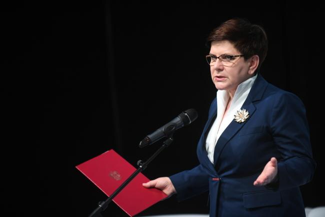 Beata Szydło. PAP/Bartłomiej Zborowski