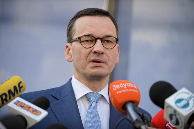 Прем'єр-міністр Польщі Матеуш Моравєцький після саміту ЄС, Брюссель, Бельгія, 22 березня 2019 року