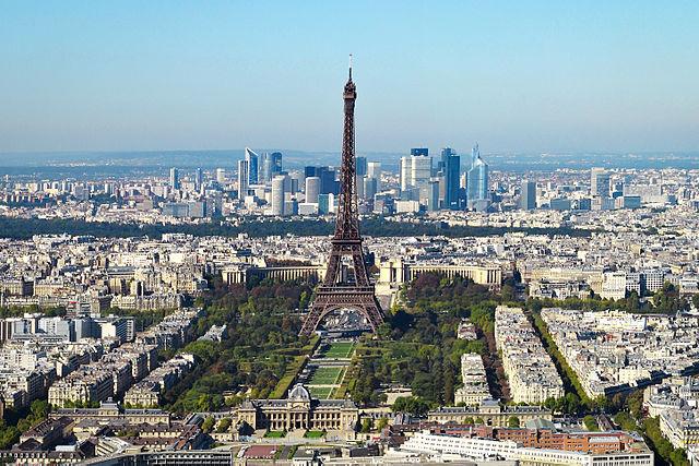 Paris. Photo: Wikimedia Commons/Taxiarchos228.