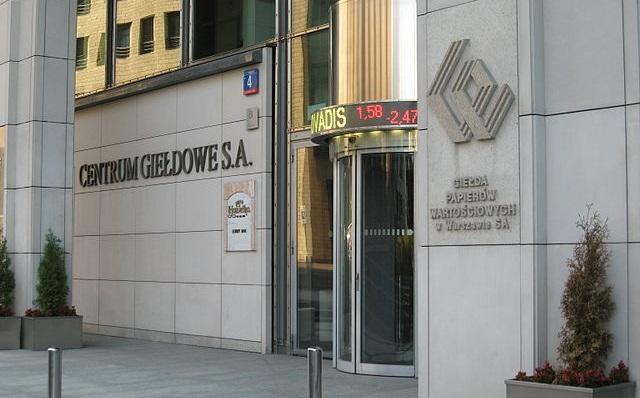 Здание Варшавской биржи ценных бумаг