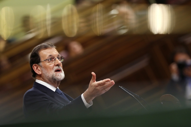 Премьер Испании Мариано Рахой.