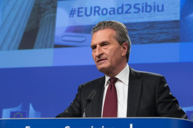 Günther Oettinger. Photo: ec.europa.eu