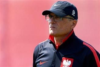 Football: final training for Polish team ahead of Euro 2016
