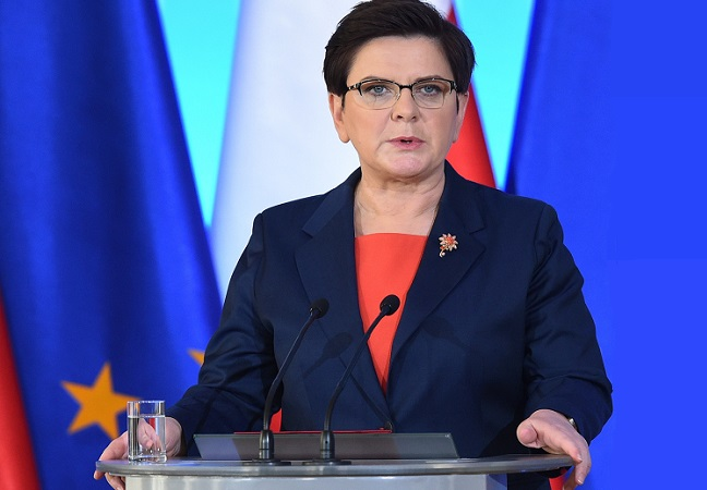Polish Prime Minister Beata Szydło. Photo: PAP/Radek Pietruszka.