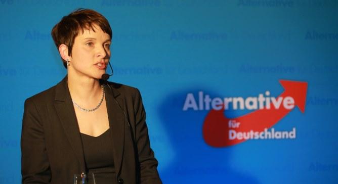 Одна з лідерів праворадикальної популістської партії «Альтернатива для Німеччини» Фрауке Петрі