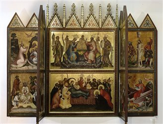 Medieval Art Gallery gets new look
