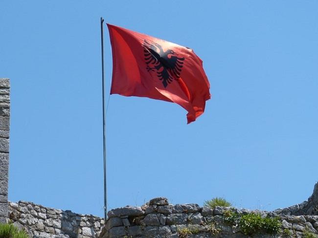 Сьцяг Альбаніі
