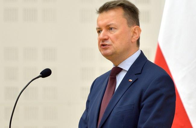 Mariusz Błaszczak. Photo: PAP/Darek Delmanowicz