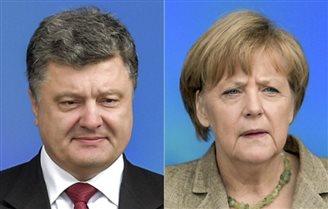 Відбуласа телефонна розмова Порошенко і Меркель