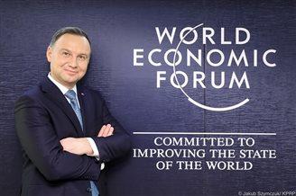 Polish president, PM in Davos