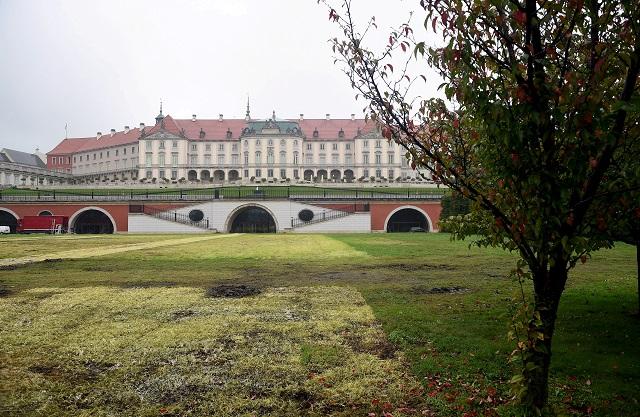 Warszawa - Zamek Królewski Ogrody Dolne