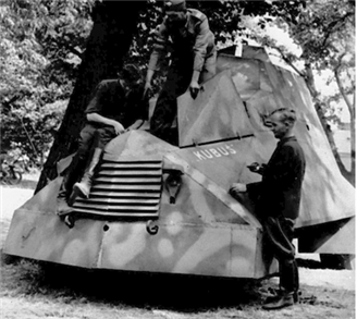 Kubuś: the Warsaw Rising's armoured car