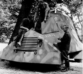 Kubuś: the Warsaw Rising's armoured car
