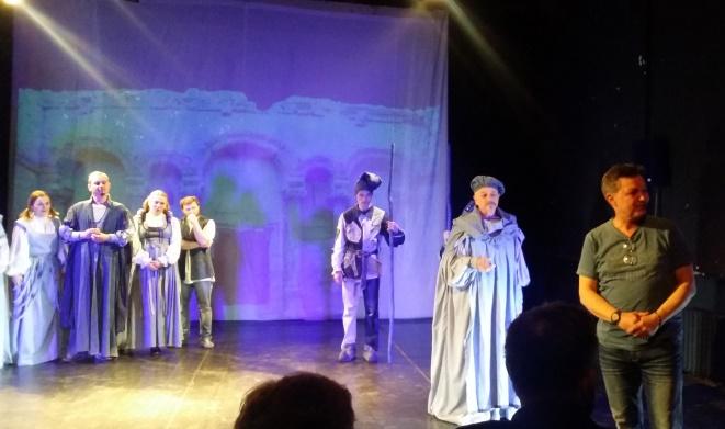 Шекспіра чернігівці грали у Варшаві на, незвичній для них, невеликій сцені
