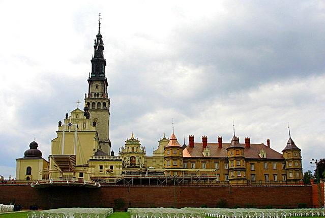 The monastery on Jasna Góra. Photo: Wikimedia Commons