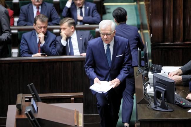 Яцек Чапутович представив головні цілі закордонної політики Польщі