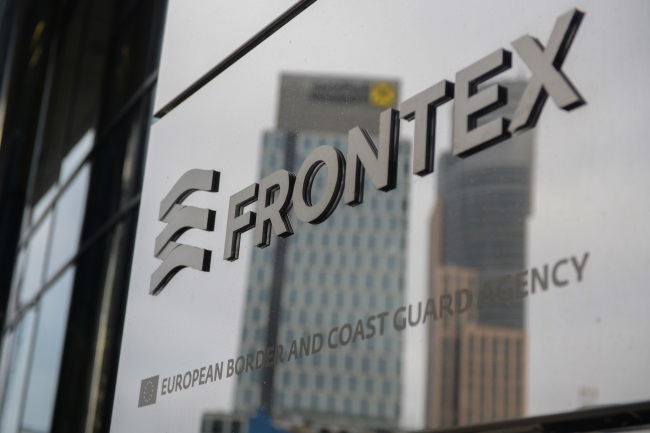The Warsaw HQ of Frontex. Photo: PAP/Jakub Kamiński