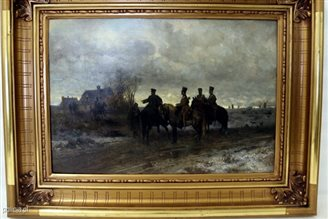 Polish police find lost Gierymski painting