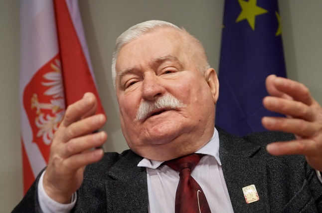 Lech Wałęsa, pictured last year. Photo: PAP/Adam Warżawa