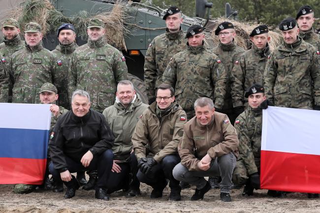 У Варшаві відбулися святкування приєднання країн Вишеграду до НАТО