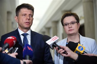 New parliamentary club chief for Poland's opposition Nowoczesna