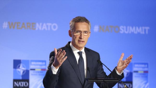 Глава Північноатлантичного альянсу Єнс Столтенберґ