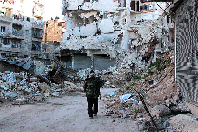 War-torn Aleppo. Photo: British Foreign and Commonwealth Office/Basma (CC BY-ND 2.0)