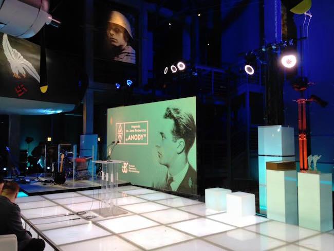 """В Музее Варшавского восстания прошло вручение премии """"Аноды"""" тем, кого можно назвать """"героями мирного времени""""."""