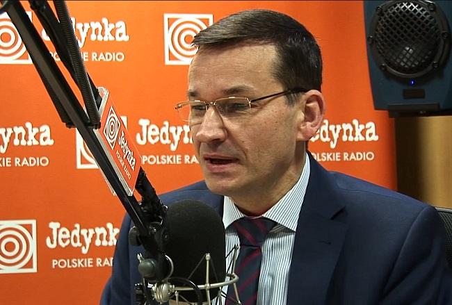 Mateusz Morawiecki. Photo: polskieradio.pl