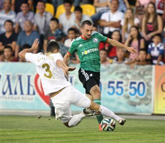 Legia win in Kazakhstan