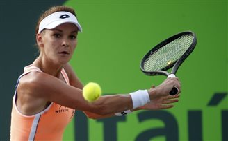Tennis: Poland's Radwańska through to third round in Miami