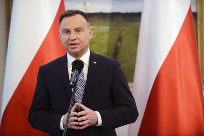 President Andrzej Duda. Photo: PAP/Jakub Kamiński