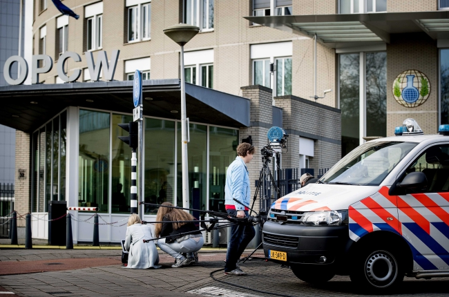 OPCW holds special session in The Hague on suspected chemical attack in Douma, Syria