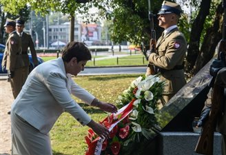Polish PM in tribute to 9/11 victims