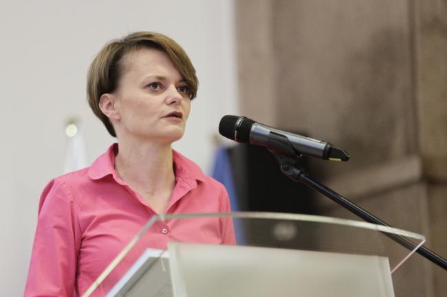 Министр предпринимательства и технологии Польши Ядвига Эмилевич