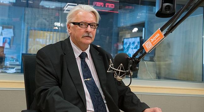 Будущий министр иностранных дел Польши Витольд Ващиковский.