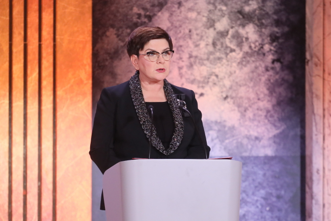 Polish PM Beata Szydło. Photo: PAP/Paweł Supernak