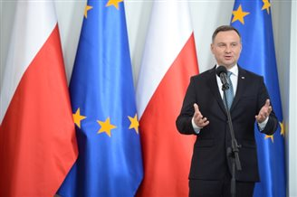More than a half of Poles happy with President's performance