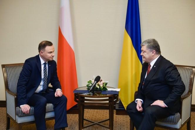 Анджей Дуда і Петро Порошенко. Харків,13 грудня 2017